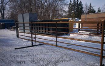Level Welding Livestock Equipment Freestanding Corral